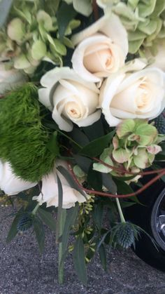 Save money by sending flowers directly with a Local Florist. Beautiful Bouquet Of Flowers, White Flowers, Wedding Flowers, Video Nature, Casket Sprays, Fresh Flower Delivery, Local Florist, Flower Aesthetic, Geraniums