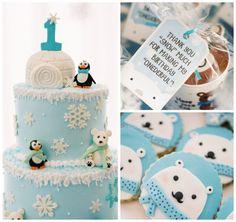 Winter ONEderland Birthday Party via Kara's Party Ideas KarasPartyIdeas.com (1)