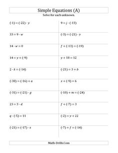 Worksheet 2 Step Algebra Equations Worksheets equation words and worksheets on pinterest algebra worksheet solve one step equations with larger