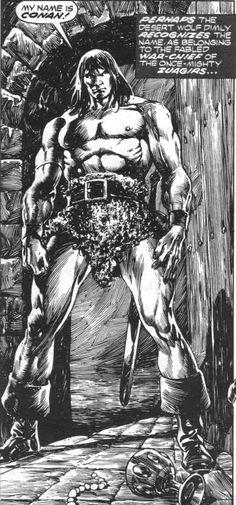 4/19/14 6a Conan:   Mammoth Massive  Primal Warrior rehconan.tumblr.com