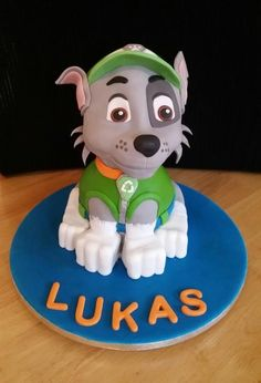 Rocky - Paw Patrol - 3D Sculpted Cake - Cake by Cakes By Kris