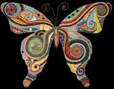 Irina Charny another beautiful piece Tile Art, Mosaic Art, Mosaic Glass, Mosaic Tiles, Glass Art, Stained Glass, Mosaic Crafts, Mosaic Projects, Mosaic Designs
