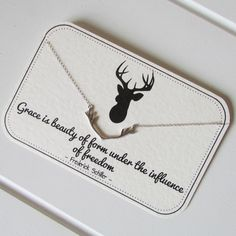 A beautiful collection of limited edition handmade sterling silver jewellery that is displayed on an ivory quote card. Handmade Sterling Silver, Sterling Silver Jewelry, Silver Jewellery, Geek Chic Outfits, Antler Necklace, Teacher Outfits, Deer Antlers, To My Daughter, Beautiful