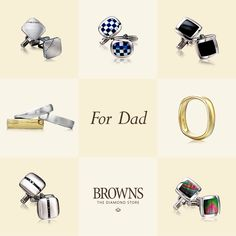 Don't forget Dad!  Father's Day, Sunday 21 June 2015.