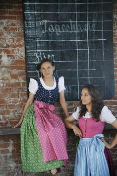 german waitresses in traditional dirndls