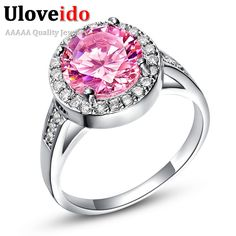 Find More Rings Information about Anel Femininos de Formatura Simulated Diamante Pink Diamond Rings Aniversario Bijoux Women Engagement Wedding Ring Jewelry Ulove,High Quality jewelry sizer,China jewelry eye Suppliers, Cheap jewelry gear from D&C Fashion Jewelry Buy to Get a Free Gift on Aliexpress.com