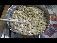 Classic Amish Style Macaroni Salad: Noreen's Kitchen oduzmi jaja