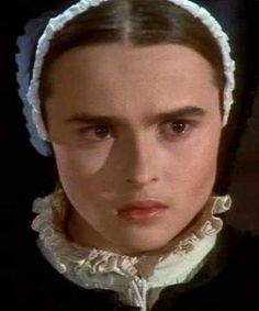 """Helena Bonham Carter as Lady Jane Grey (the """"Nine Days Queen"""") in the motion picture """"Lady Jane.""""  Sadly, no authenticated contemporary portrait of Jane exists."""