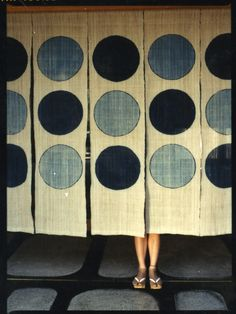 'Looking to Japan for inspiration. Arigatō' by American photographer Joanna Van Mulder. via Plumes and Feathers Japanese Design, Japanese Art, Noren Curtains, Japanese Textiles, Colorful Pictures, Textile Art, Wall Murals, Design Inspiration, Shibori