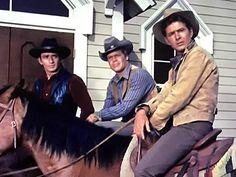 The Virginian (1962-1971) 1960s Tv Shows, Old Tv Shows, Old Western Actors, Doug Mcclure, James Drury, Gary Clark, Most Handsome Actors, Tv Show Music, The Virginian