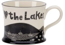 We also have a range of Lakeland Ware mugs from Moorland Pottery.