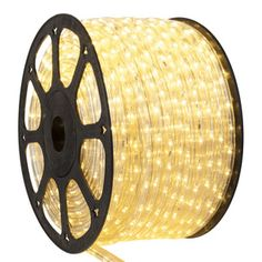 """150' Candlelight LED Rope Light, 2 Wire 1/2"""", 120 Volt"""