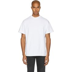 JOHN ELLIOTT White Mock Panel T-Shirt. #johnelliott #cloth #