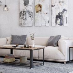 Wohnzimmer Im Vintage Stil Einrichten