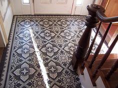 Cement Tile Foyer