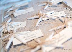 Starfish Place Cards   DIY Beach Wedding Ideas on a Budget   DIY Beach Wedding Decorations