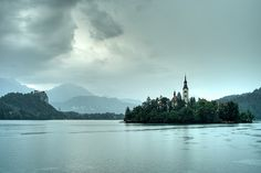 Lake Bled Julian Alps, Lake Bled, Day Trip, Small Towns, Nature, Island, Mountains, Travel, Viajes