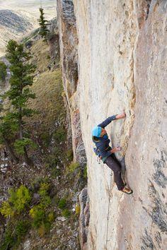 climbing The Fins