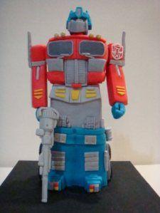 Transformer Optimus Prime robotcake