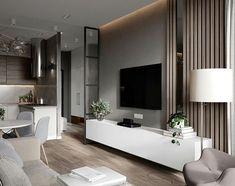 Este posibil ca imaginea să conţină: masă şi interior Living Room Tv, Living Room Interior, Home Interior Design, Home And Living, Apartment Interior, Apartment Design, Apartment Living, Small Apartments, Living Room Designs