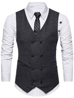 Cheap Fashion online retailer providing customers trendy and stylish clothing including different categories such as dresses, tops, swimwear. Double Breasted Waistcoat, Tweed Waistcoat, Suit Fashion, Mens Fashion, Cheap Fashion, Fashion Clothes, Fashion Photo, Fashion Dresses, Mens Clothing Sale