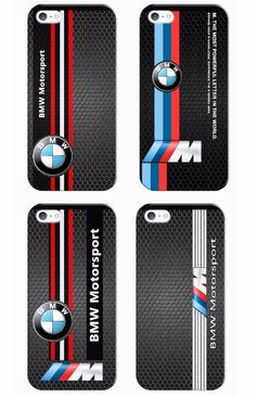 BMW M Series M3 M5 Logo Cover case For iPhone 5 6 7 Painted #UnbrandedGeneric