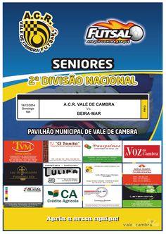 Futsal: ACR Vale de Cambra vs Beira-Mar > 14 Dez 2014, 18h @ Pavilhão Municipal, Vale de Cambra  _2.ª Divisão Nacional   Seniores Masculinos_  #ValeDeCambra #VilaChaVLC #futsal
