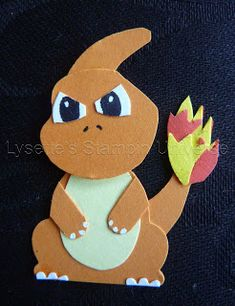 Lysette's Stampin Universe: Gotta Craft Them All Challenge, Charmeleon: