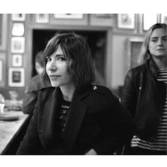 We love Carrie. Carrie Brownstein, Taylor Schilling, Our Love, Carry On, Hand Luggage, Carry On Luggage