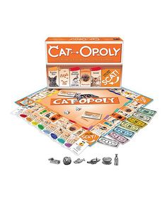 Late for the Sky Cat-Opoly Board Game | zulily