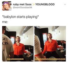 5 seconds of memes 5sos Funny, 5sos Memes, 5sos Pictures, 5secondsofsummer, Calum Hood, 1d And 5sos, Luke Hemmings, My Escape, Music Stuff