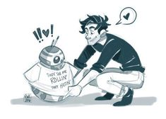 Poe and bb 8