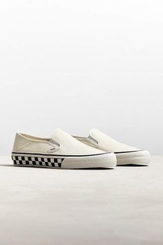 huge selection of 66c2b ea0c5 Vans Slip-On SF Checkerboard Sneaker Cochinitos, Alpargatas Vans, Última  Moda Para Hombre