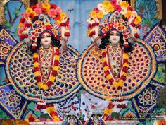 Sri Sri Gaura Nitai Wallpaper  click here for more sizes http://harekrishnawallpapers.com/sri-sri-gaura-nitai-iskcon-ujjain-wallpaper-005/