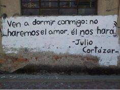 Julio Cortázar y el amor...