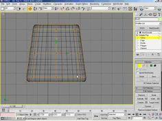 3DsMax5   17강 Example   주방의자 만들기