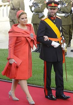 La gran duquesa Maria Teresa de Luxemburgo... Boda de Guillermo de Luxemburgo & Stephanie de Lannoy