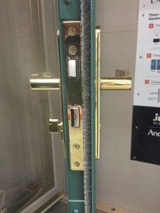 Andersen Exploded Lock Trim Hardware Anderson Door And