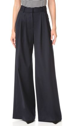 Milly Wide Leg Trousers