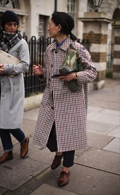 On the Street…Not Half Plaid, London
