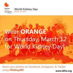 March is Kidney Month | National Kidney Foundation of Michigan