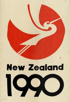 On 6 February 1990 New Zealand celebrated the anniversary of the signing of the Treaty of Waitangi. A white heron, or kōtuku, was chosen as the official symbol, designed by carver Fred Graham and graphic artist Roy Good. Like all New Zealanders, . Web Design, Logo Design, Graphic Design, Treaty Of Waitangi, Logo Branding, Logos, Japan Logo, City Logo, Anniversary Logo