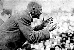 Eugene Debs.  Picture taken  at Canton Speech, Nimsillia Park
