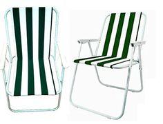 Set of 2 Folding Camping Arm Chair Green White Striped Garden Deck Picnic Fishing Seat RoukenglenUK http://www.amazon.co.uk/dp/B00U06QMKG/ref=cm_sw_r_pi_dp_JmQEvb0VEK72A