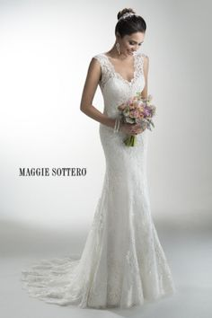 Lace Maggie Sottero gown: http://www.stylemepretty.com/2014/11/03/21-of-our-favorite-lace-dresses/