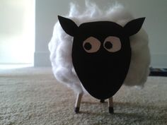 Simple Craft Sheep for the kids to make for Eid-ul-Adha