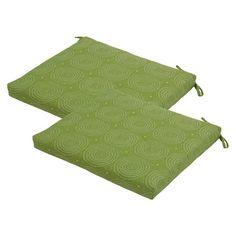 Threshold™ 2-Piece Outdoor Seat Cushion Set