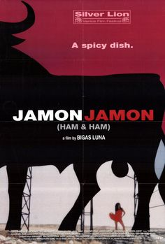 Jamón, jamón - Bigas Luna (1992)   Penelope and Bardem in early 90's   Now they are married, Director died that year, big Loss, sad.