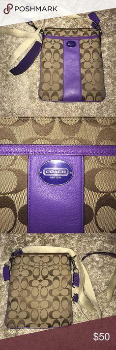 Cross-body coach purse New condition! Coach Bags Crossbody Bags