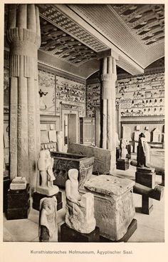 The Egyptian Hall inside the Kunsthistorisches Museum, Vienna